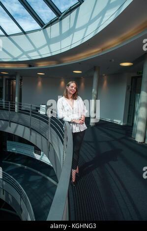 Anne Mette Høyer jefe de relaciones de negocios para SAP. Fotografiado en sus oficinas en Walldorf, Baden-Württemberg, Alemania.