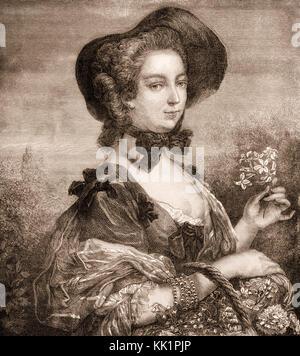 Jeanne Antoinette Poisson, Marquesa de Pompadour, Madame de Pompadour, 1721-1764, jefe amante de Luis XV