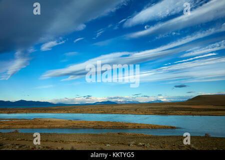 Río La Leona, Patagonia, Argentina, Sudamérica