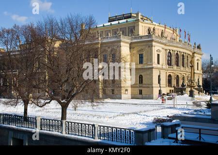 El Rudolfinum, Alsovo nabrezi, Stare Mesto (UNESCO), Praha, Ceska republika / Rudolfinum, Old Town, Praga, República Checa