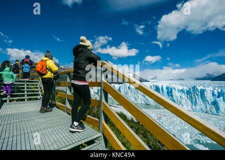 Glaciar Perito Moreno, Parque Nacional Los Glaciares, departamento Lago Argentino, provincia de Santa Cruz, Patagonia Argentina.
