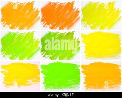 Collage de aguas color abstracto antecedentes texturado