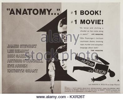 ARTHUR O\'Connell y James Stewart Anatomía de un Asesinato (1959 Foto ...