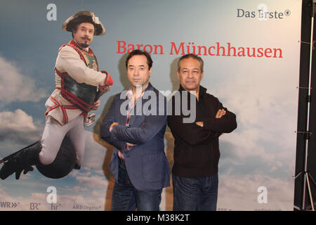 Jan Josef Liefers, Tayfun Bademsoy, 'Muenchhausen Fototermin', Hamburgo, 29.10.2012