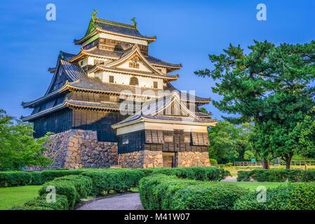 Matsue, Japón en el castillo.