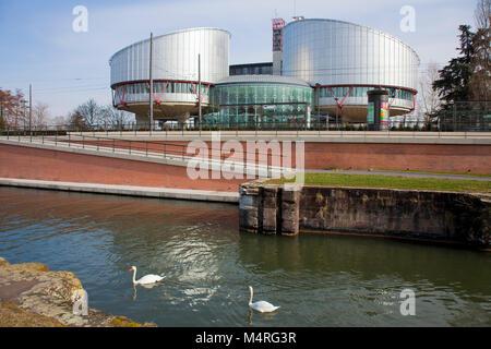 Tribunal Europeo de los derechos humanos, de Estrasburgo, Alsacia, Bas-Rhin, Francia, Europa