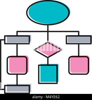 Ilustracin vectorial de diagrama de flujo ilustracin del vector diagrama de flujo diagrama de conexin vaco foto de stock ccuart Image collections