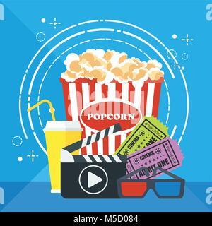 Plantilla de carteles de cine