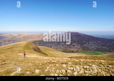 Una mujer caminante caminando por la cumbre de Bowscale cayó en el distrito inglés de Lake District, en el Reino Unido.