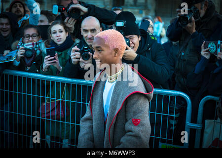 Jaden Smith en la Copa Louis Vuitton Fashion show Marzo 2018 Foto de stock