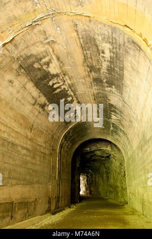 Othello túneles, Coquihalla Canyon Parque Provincial de Columbia Británica, Canadá Foto de stock