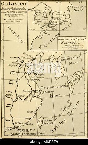 Die postwertzeichen und der deutschen postanstalten entwertungen in den schutzgebieten und im auslande (1921) (14744799346)