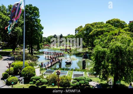 Buenos Aires Argentina,Recoleta,Jardín Japonés Jardin Japones,Botánico,Lago Carpa,Hispano,ARG171130075