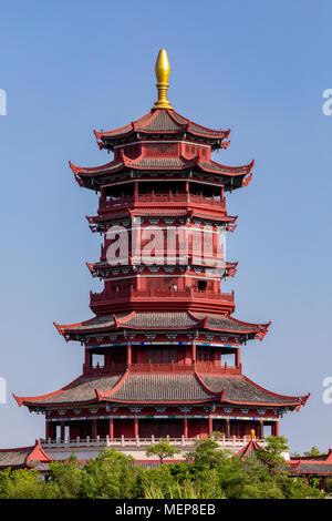 Pabellón Xinglin, Xiamen International Garden & Flower Expo Park, Distrito Jimei, Xiamen, Fujian, China