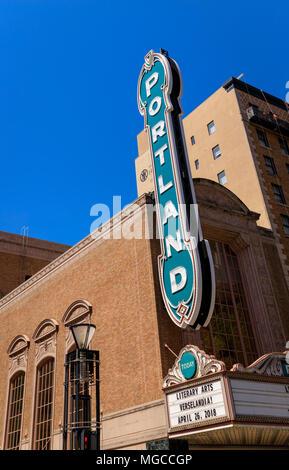 Centro Histórico de Portland, Oregón, signo