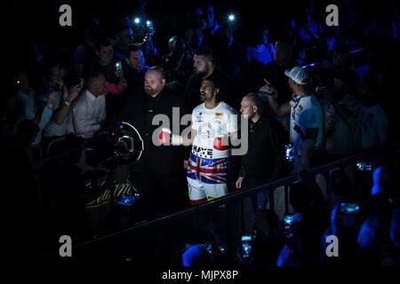 Londres, Reino Unido. 5 de mayo, 2018. Haye vs Bellew heavyweight boxing revancha en el O2. Crédito: Guy Corbishley/Alamy Live News Foto de stock