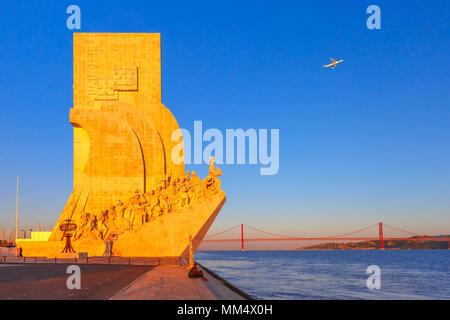 El Monumento a los descubrimientos, Lisboa, Portugal