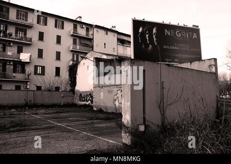 Escenas Urbanas, capturados en los suburbios de la ciudad de Bologna, Italia