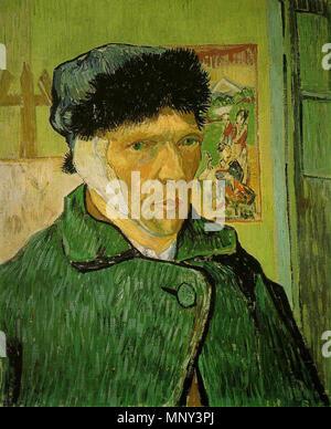 La Courtauld Gallery. Vincent Van Gogh. Autorretrato con ...
