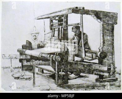 Tejedora En Telar De Vincent Van Gogh 1853 1890 Fotografía De Stock Alamy