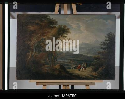 968 Paysage - anonyme - Musée d'art et d'histoire de Saint-Brieuc, DOC 32