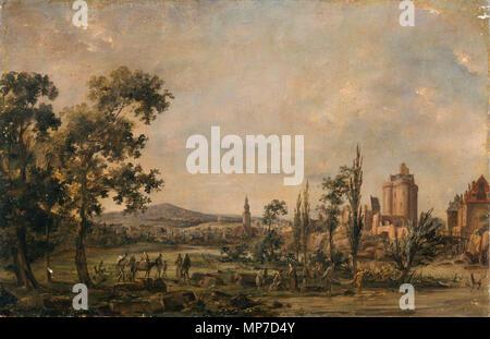 968 Paysage - anonyme - Musée d'art et d'histoire de Saint-Brieucb