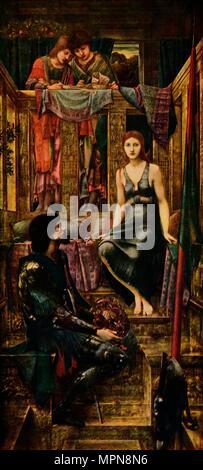 """""""El Rey Cophetua y la mendiga Maid"""", 1884, (1911). Artista: Sir Edward Coley Burne-Jones."""