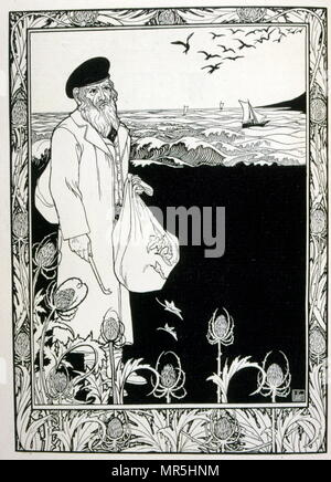 """Judá', una colección de baladas por el poeta no-Judía Börries von Münchhausen 1874 - 1945. Ilustrado por Efraín Moisés Lilien (1874-1925), ilustrador y grabador de estilo art nouveau, que destaca por su arte sobre temas judíos. Él es a veces llamado """"el primer artista sionista. La relación de Münchhausen al Judaísmo sigue siendo ambivalente: Munchhausen no consideran que la """"raza judía"""" inferior, sino que simplemente quería evitar una """"mezcla"""" con los judíos alemanes."""