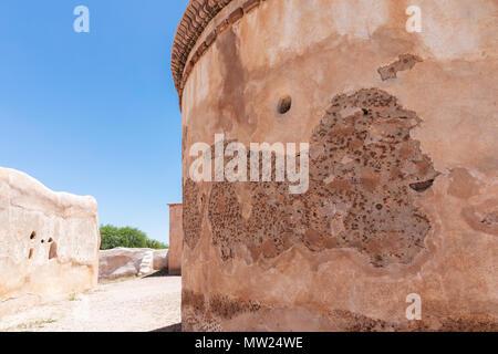 Capilla mortuoria en la misión de San José de Tumacácori, Arizona