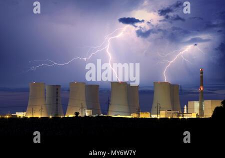 Planta de energía nuclear de storm