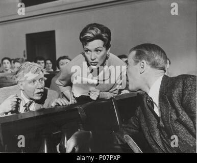 JAMES STEWART & EVE ARDEN Anatomía de un Asesinato (1959 Foto ...