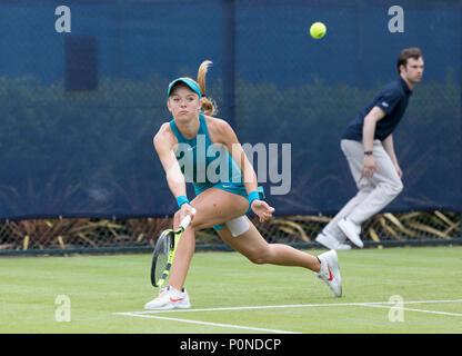 Katie Swan en el tenis, en acción durante la naturaleza Valle Open 2018 - Katie Swan Jugador de tenis