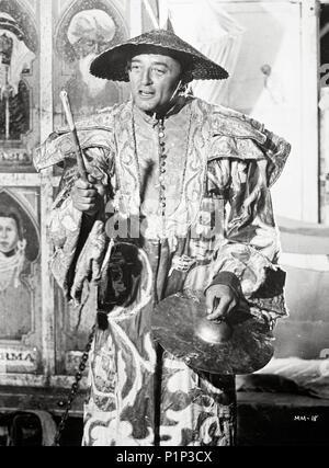 El título de la película original: Mister Moisés. Título en inglés: Mister Moisés. El director de cine: Ronald NEAME. Año: 1965. Estrellas: Robert Mitchum. Crédito: United Artists / Álbum