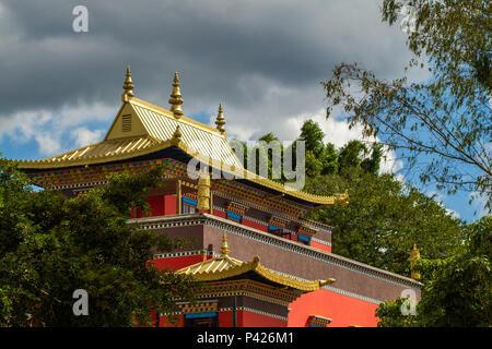 Templo Chagdud Gonpa Odsal Ling , Templo budista tibetano, Cotia, São Paulo, Brasil.