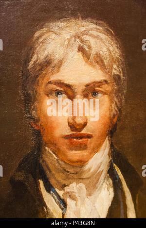 Autoretrato de Joseph Mallord William Turner c.1799 Foto de stock