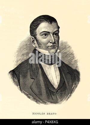 Nicolás Bravo Rueda 1786 1854 11 El Presidente Mexicano
