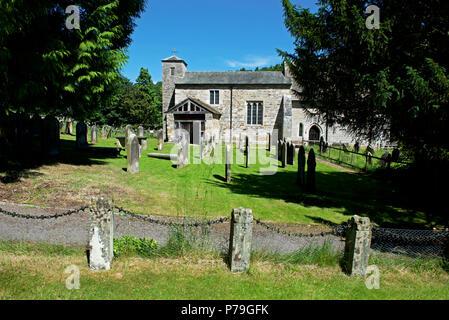 San Gregorio Minster, Kirkdale, cerca Kirkbymoorside, North Yorkshire, Inglaterra Foto de stock