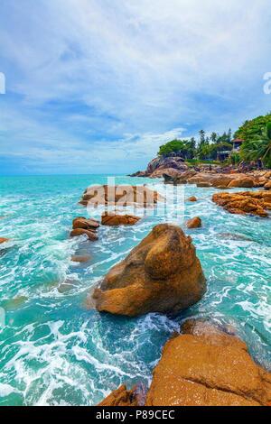 La hermosa naturaleza de Koh Samui en Tailandia.