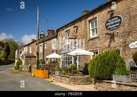 Reino Unido, Inglaterra, Yorkshire, Swaledale, Thwaite, aldea Kearton Country House Hotel y restaurante llamado después de carácter pionero phoographers