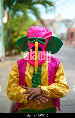 Uno de los más importantes y conocido personaje es la Marimonda, originada en la ciudad de Barranquilla, este personaje está representada por sus propios movimientos de baile. El