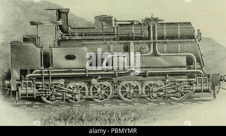 931 Locomotora ingeniería - una práctica oficial de potencia motriz ferroviaria y el material rodante (1898) (14780959813)
