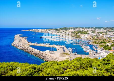 Santa Maria di Leuca pier harbour marina Salento Lecce Apulia Italia