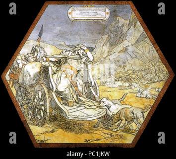 472 Pavimento di Siena, esagono, Morte di acab (Alejandro Franchi) 01