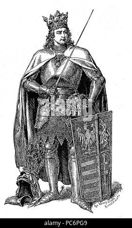 92 Walery Eljasz-Radzikowski, Wladyslaw Warneńczyk Foto de stock