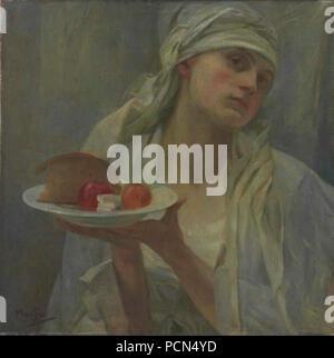Alfons Mucha 24.7.1860-14.7.1939 - Samaritanka.