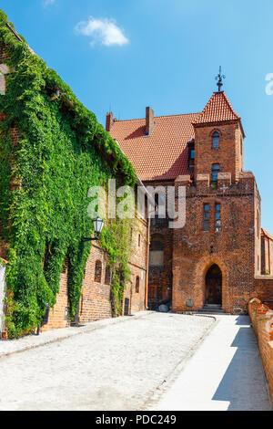 Vista de los edificios históricos de la ciudad medieval polaca de Torun, en Polonia. Torun figura entre los sitios del Patrimonio Mundial de la UNESCO