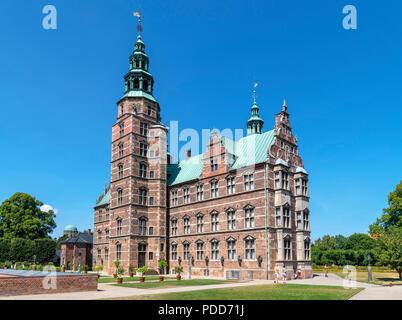 Castillo de Rosenborg (Rosenborg Slot), Copenhague, Dinamarca