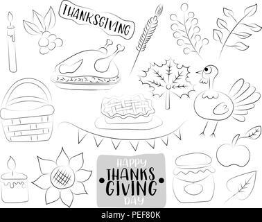 Dibujadas a mano de familia feliz. Libro para colorear educativo ...