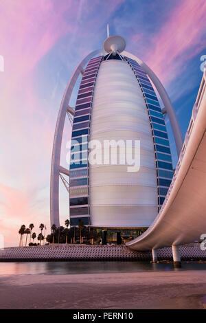 El Hotel de lujo Burj Dubai, Dubai, EAU, Emiratos Arabes Unidos