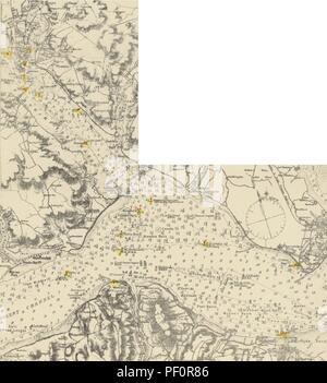 """Imagen de la página 28 de """"El Libro Gráfico Solent, con navegación a vela para todos los ríos y puertos entre Selsea y Portland'"""